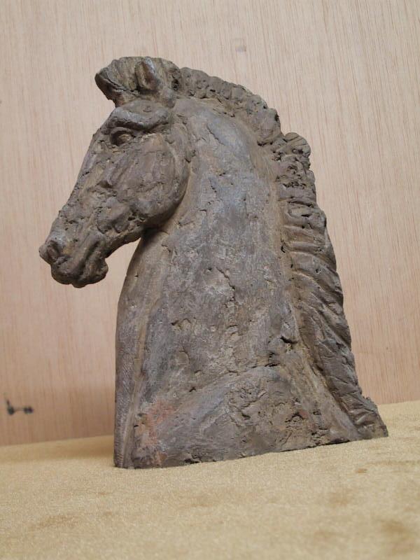 Gal tete cheval ciment 2