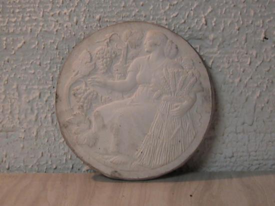 Gal medaille femme gerbe de ble vigne 1
